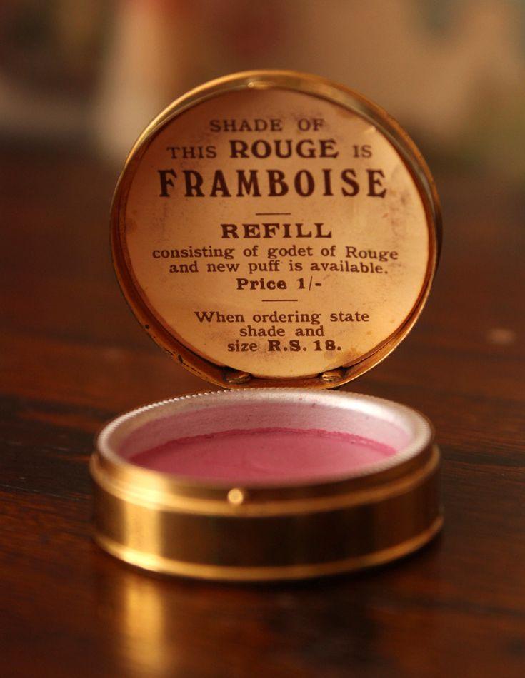 """1920s-30s """"Rouge Framboise"""" (raspberry)"""