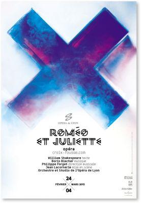 Malte Martin, affiche pour le Théâtre Croix-Rousse, 2015