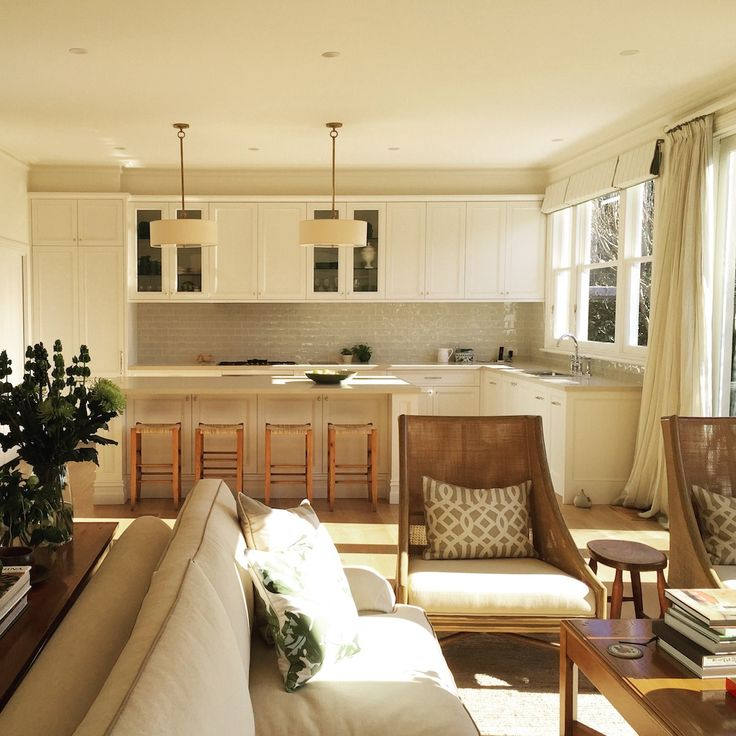 Armadale Kitchen and Living Room Area by Kimpton Interiors