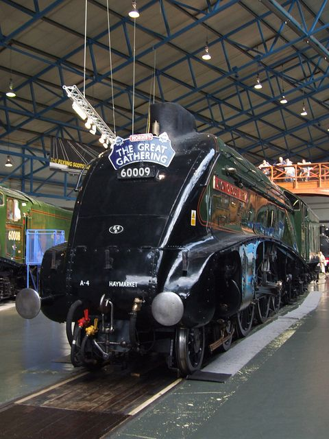 LNER A4 60009 Union of South Africa in the NRM Great Hall (05/07/2013)   Flickr - Photo Sharing!
