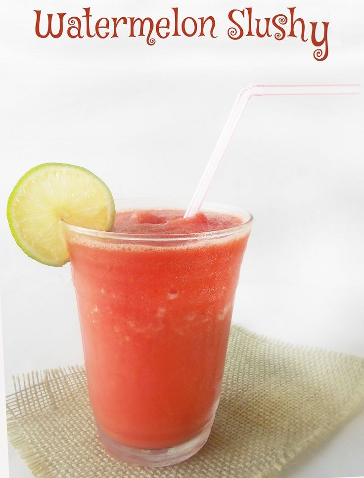 How to make a slushy - Using fresh watermelons and honeydew, make this awesome summer coolers. Takes only 10 minutes. Add Malibu Rum to make the grown-up version