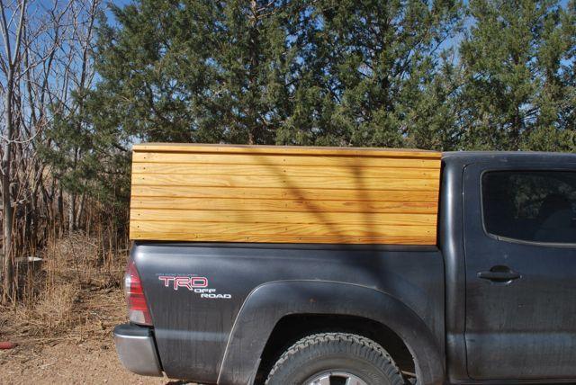 Wooden Truck Topper | Paleotool's Weblog