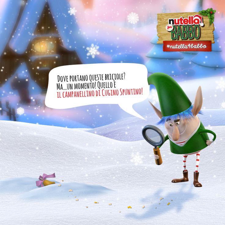 Elfo Spalmino non sa più che pesci pigliare. Decide di andare a trovare Babbo per tirarlo un po' su. Ma una pista di briciole richiama la sua attenzione… Secondo voi dove lo porterà?
