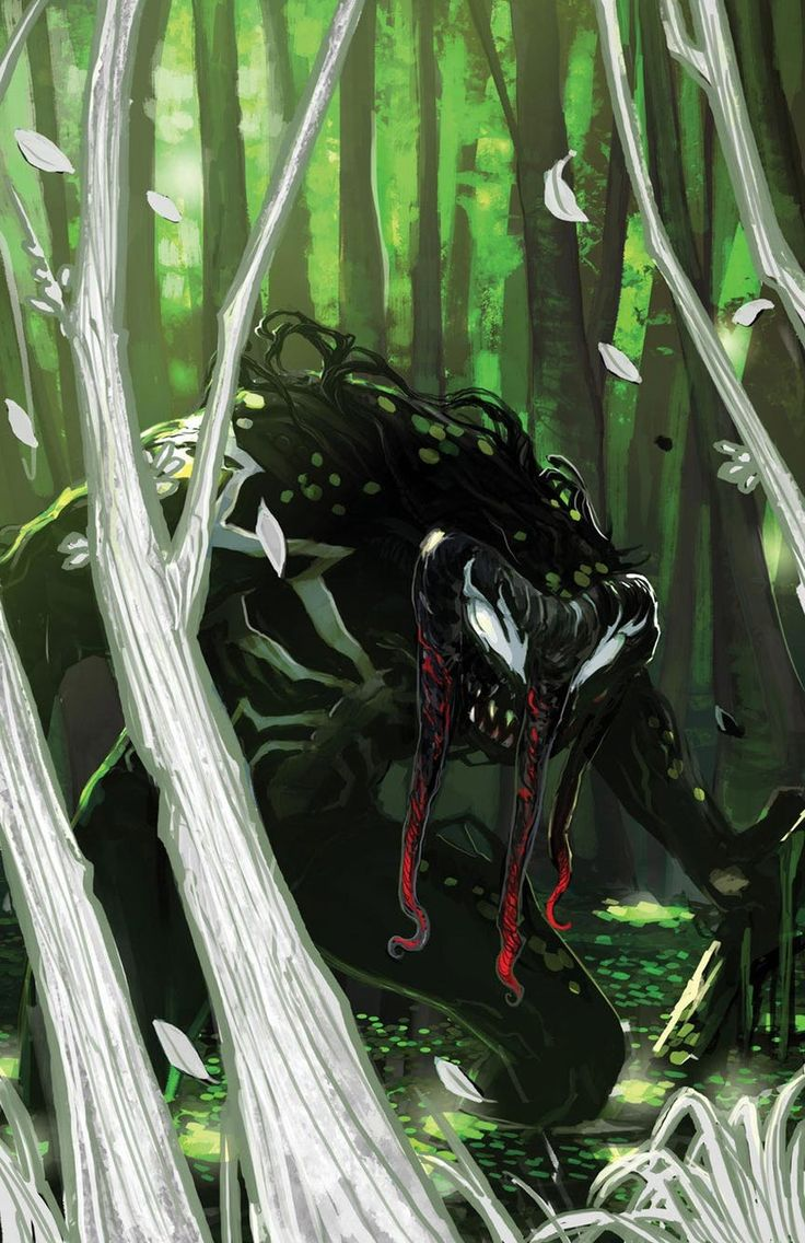 MAN-THING (Venomized) by Stephanie Hans