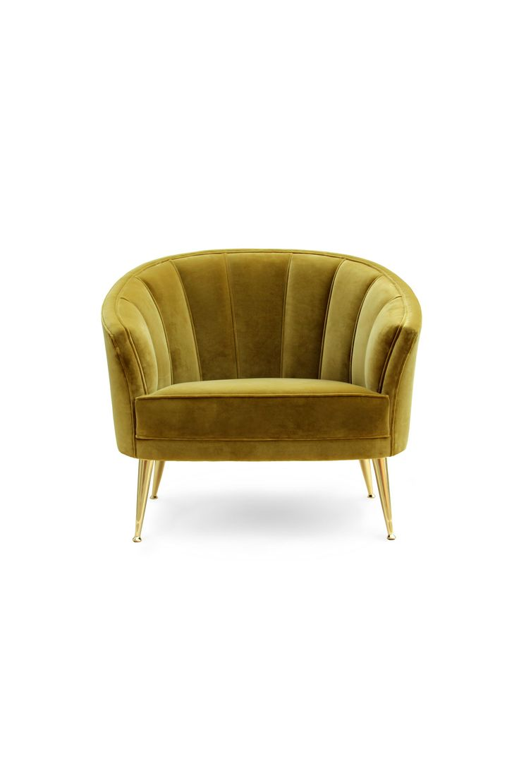 MAYA ARMCHAIR | MAYA armchair's green/lime color was taken from one of the primary elements of Mayans culture, the maize. modern lobby armchairs