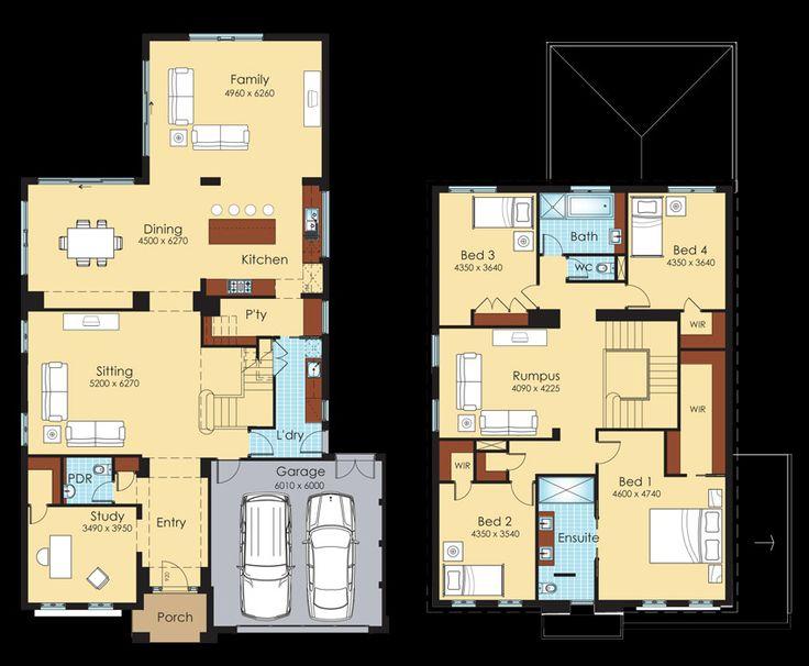 Double Storey House Designs Bendigo  Avignon. 17 best ideas about Double Storey House Plans on Pinterest
