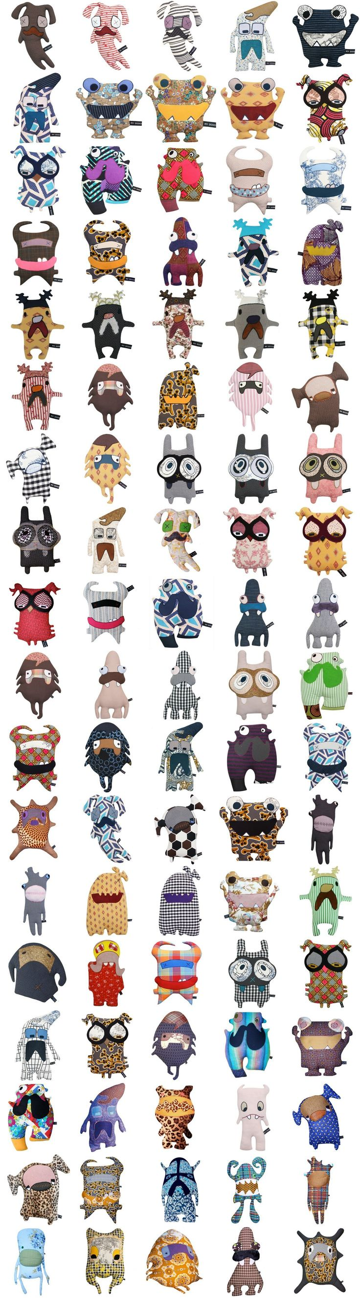 MyDoDooDesign toys. Unique, Recycled Fabrics, Handmade.