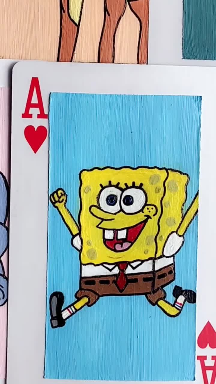 Pin By Nycolly Miranda On Playing Cards Design Playing Cards Art Mini Canvas Art Disney Canvas Art
