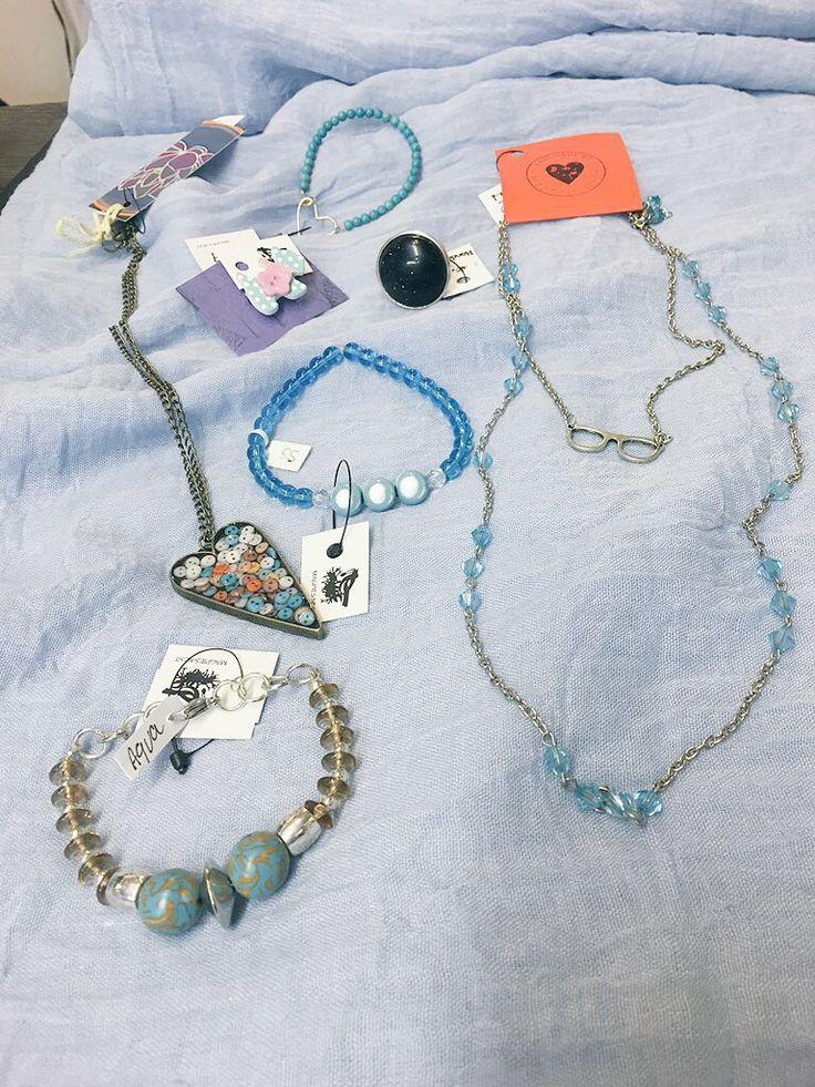 Selection of locally handmade jewellery