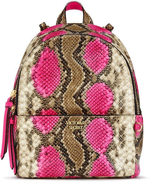 63e05f8fc4b Victorias Secret PINK Python Small City Backpack ad