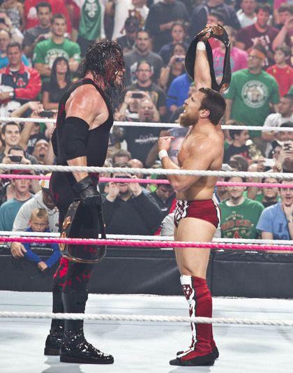 Team Hell No- Kane & Daniel Bryan at Night of Champions, Boston, MA, 2012 by John Giamundo #WWE