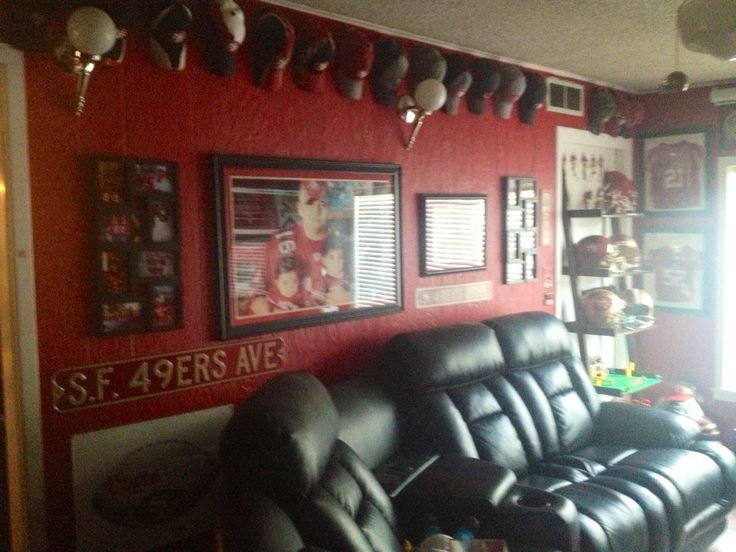 Best 25 49ers Room Ideas On Pinterest Diy 49ers Party