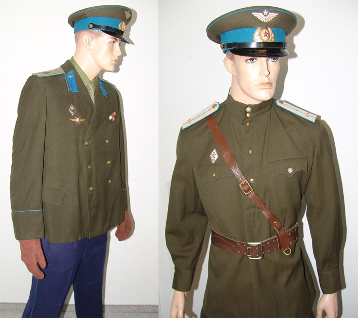 1955 to 1958 military service (left) and field (right