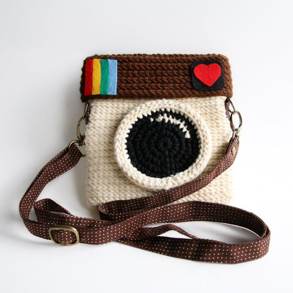 How fun is this!? #Instagram #Purse Original Color Love IG by @meemanan on #Etsy