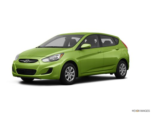 Hyundai Accent 5 2014 - Vert pomme
