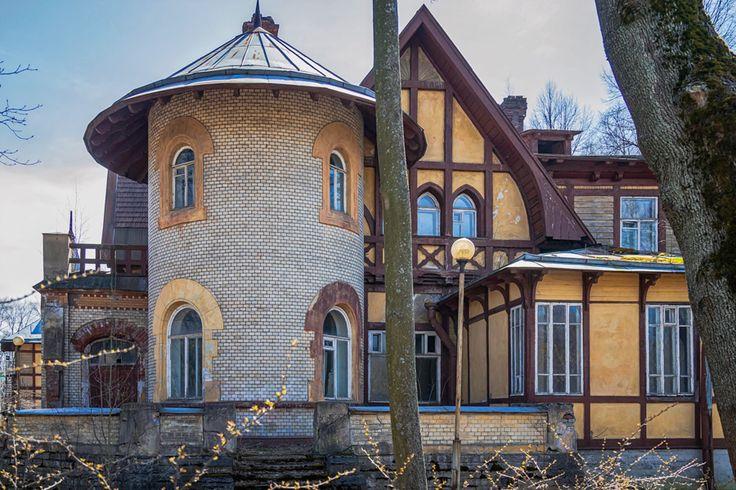 Дача булочника для Ирэн Адлер: alkopona  Пряничный  домик  под  Петербургом.
