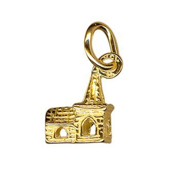 Buy our Australian made Church Charm - chr-0695 online. Explore our range of custom made chain jewellery, rings, pendants, earrings and charms.