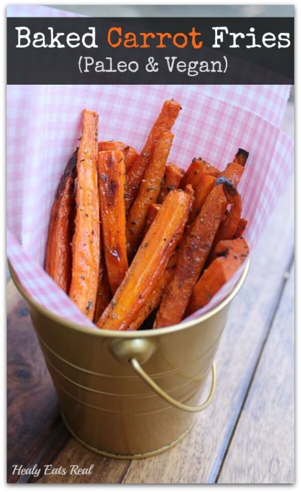 Whole30 Baked Carrot Fries Recipe plus 25 more of the most pinned Whole30 recipes