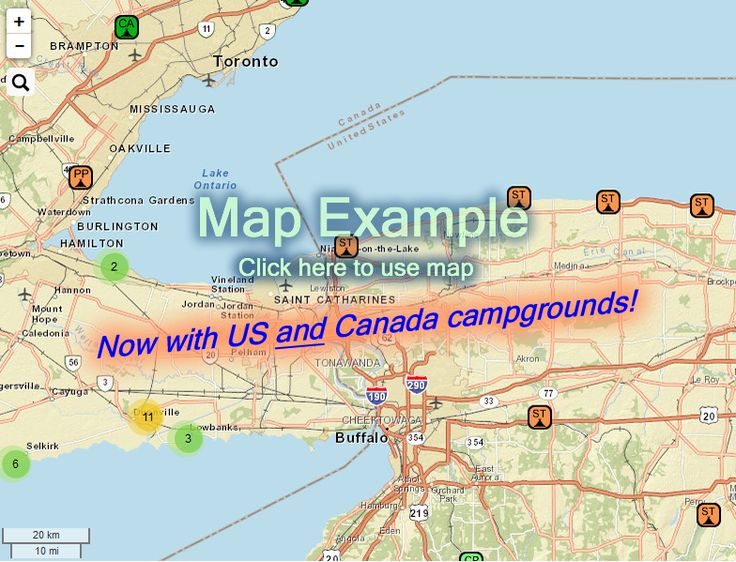 Ultimate Campgrounds The LARGEST POI List For US Public - Us rv traveling map