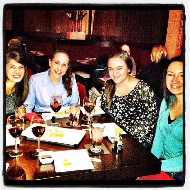 Sushi night at Sushi Rock for @gebencomm. Restaurant Week Columbus, January 2012. Yum! Photo by @Prtini