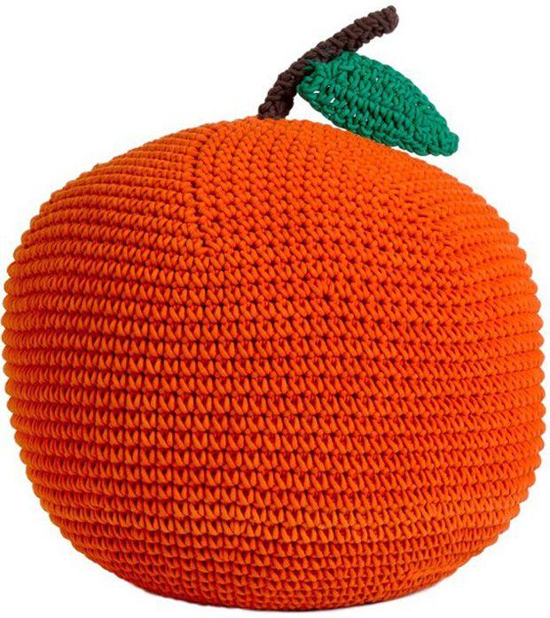 Anne petit claireKnits Crochet Stuff, Knits Poufs, Knits Apples, Apples Pillows, Kids Room, Anne Claire'S Little, Orange Poufs, Poufs 201202, Poufs Apples