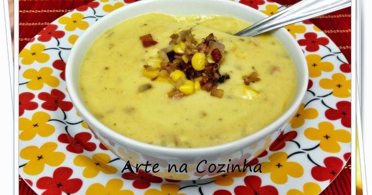 Semana passada vi na página do facebook do blog Eternos Prazeres da querida Renata, a receita que ela publicou desta sopa. Como o marido...