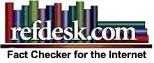 Refdesk is a free and family friendly web site that indexes and reviews quality, credible, and current web-based reference resources.