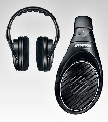 Shure - SRH1440 Professional Open Back Headphones