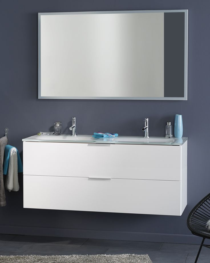 Die besten 25+ Waschbeckenunterschrank weiss Ideen auf Pinterest - badezimmer unterschrank weiss