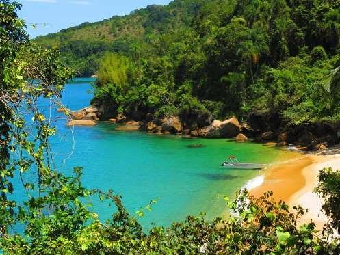 De Norte a Sul do país, belos cenários para quem deseja ter dias relaxantes em contato com a naturez... - Divulgação