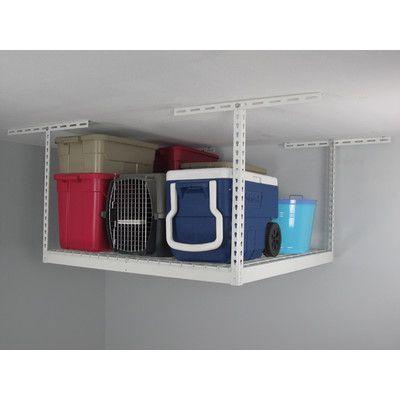 SafeRacks Overhead Storage Rack & Reviews   Wayfair