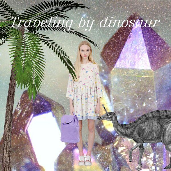太古の恐竜に乗って、未来の世界へ旅行に出掛ける女の子のストーリー。 Dress - THE WHITEPEPPER/ザ・ホワイトペッパー, Bag - Herschel Supply/ハーシェルサプライ, Dinosaur - 友情出演 THE WHITEPEPPER / ザ・ホワイトペッパー - ファッション通販セレクトショップ SIAMESE/サイアミーズ #TheWhitepepper #ホワイトペッパー #HerschelSupply #ワンピース #dress #恐竜 #ダイナソー #dinosaur #リュック #UK #ロンドン #london #ブランド #イギリス #ファッション #fashion #レディース #レディースファッション #コーディネート #コーデ #モデル #model #読者モデル #読モ #Blogger #ブロガー #ファッションブロガー #原宿 #Harajuku #Tokyo #Girl #Girls #outfit #ootd #outfitoftheday #VOGUE #ELLE #NYLON #RookieMagazine