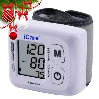 Buy iCare® CK-102S Blood Pressure Monitor Wrist Type Auto Heart Beat Rate Pulse Meter with Case online at Lazada. Discount prices and promotional sale on all. Free Shipping.