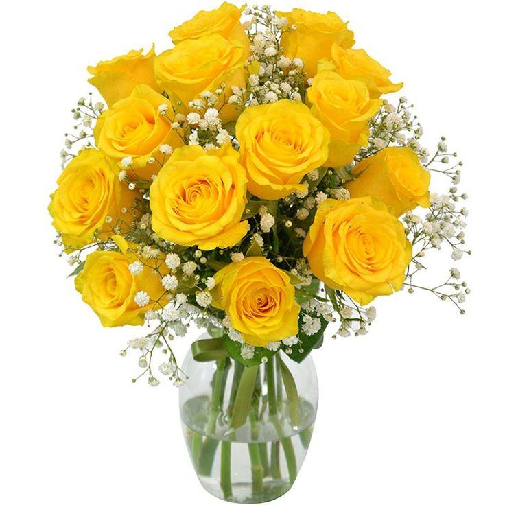 Elegância das Rosas Amarelas