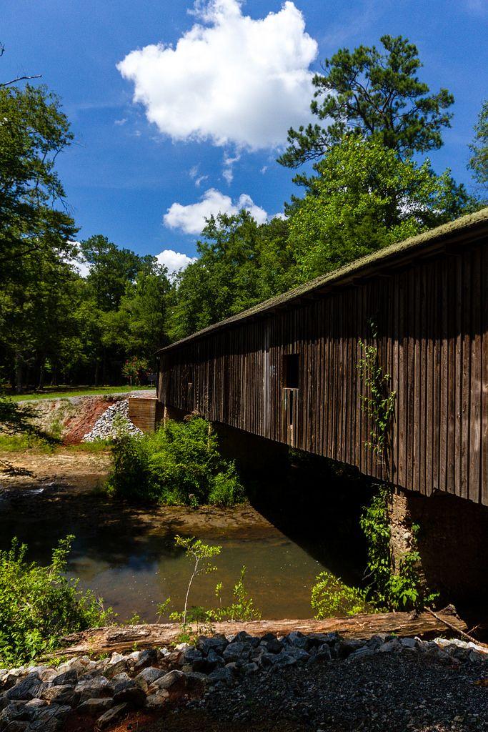 Coheelee Creek Covered Bridge, Early County, GA.