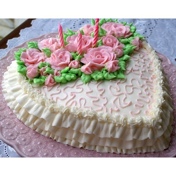 A Little Loveliness: Ballerina Girl: Birthday Cake and Portrait found on Polyvore
