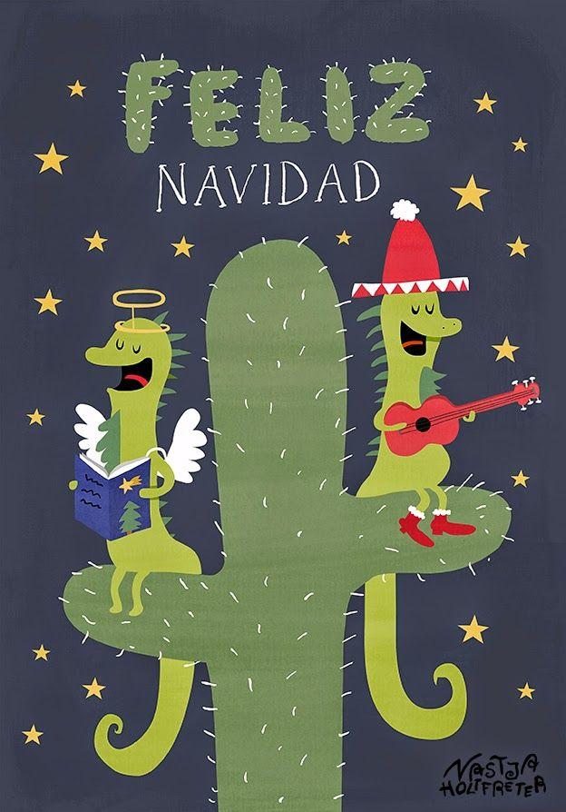 Zwei mexikanische Leguane feiern Weihnachten.     Two mexican iguanas, celebrating christmas:)
