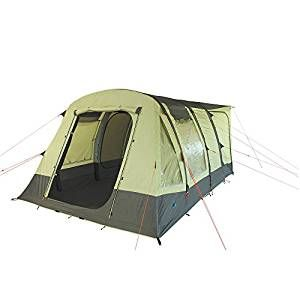 10T Camping Vorzelt Proteus aufblasbares Busvorzelt mit eingenähter Bodenwanne, freistehendes Familienzelt mit Wohnraum, Tunnelzelt mit Zelt Anschluss an Auto Bus Van, wasserdicht mit 5000mm Wassersäule: Amazon.de: Sport & Freizeit