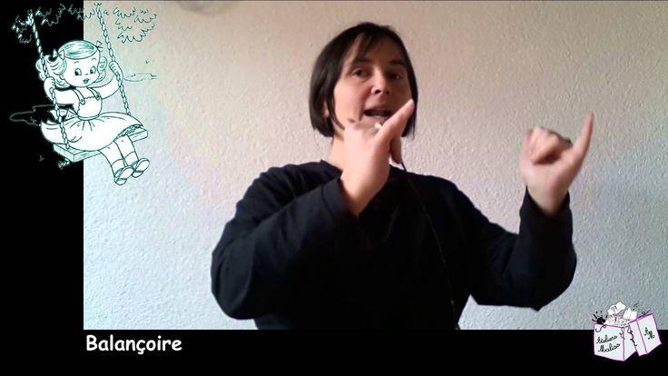 Chanson : Balançoire Toboggan (français signé)