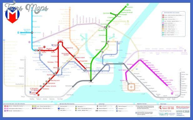 nice Istanbul Metro Map