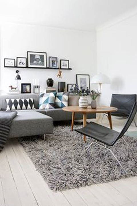 Mantle/shelf above lounge