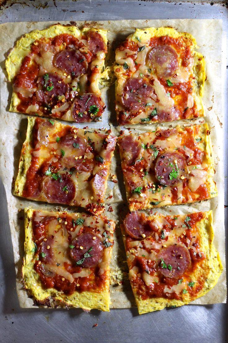 Spaghetti Squash Pizza Crust - what great grandma ate