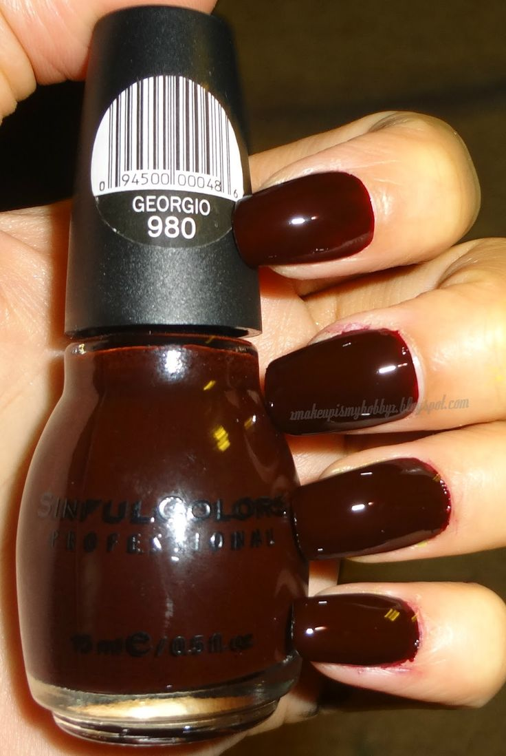 MUIMH: Sinful Colors Nail Polish Swatches. Wish they have this color in lipstick.