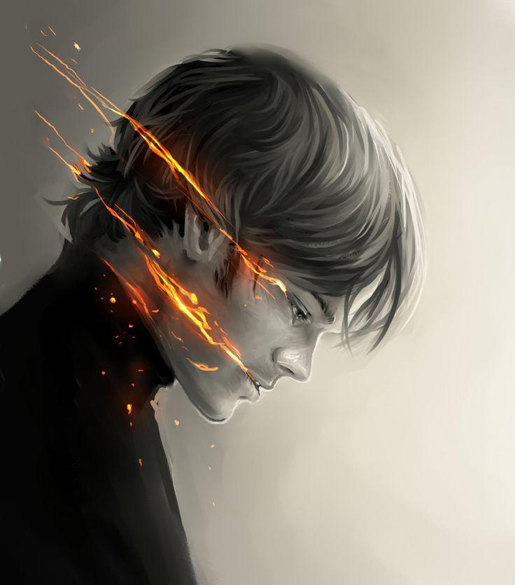 Sam Winchester= by ~Bran1313 on deviantART. Beautiful Supernatural fan art! Love it!