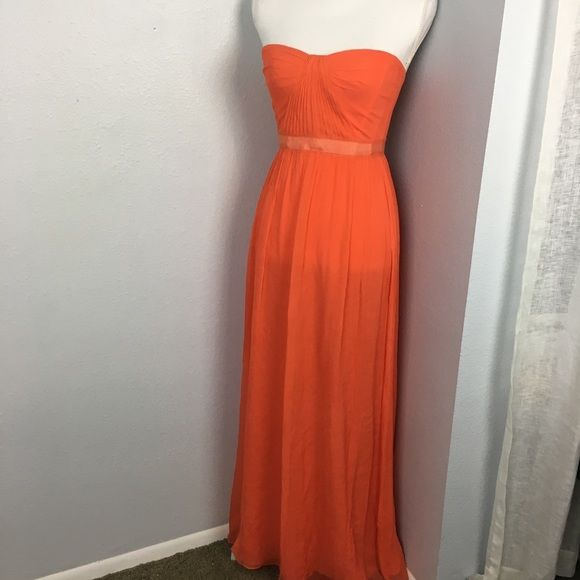 BCBGMaxAzria Dresses & Skirts - Bcbg Max Azria Strapless Silk Gown