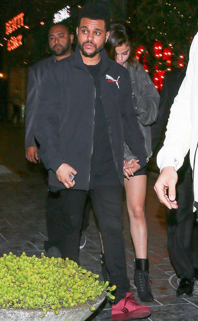 Selena Gomez and The Weeknd Hold Hands During Romantic Date Night in Los Angeles - https://blog.clairepeetz.com/selena-gomez-and-the-weeknd-hold-hands-during-romantic-date-night-in-los-angeles/