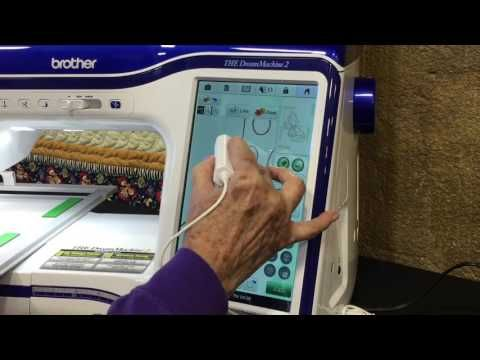 Coloring Book Embroidery Tutorial using the Dream Machine 2! - YouTube