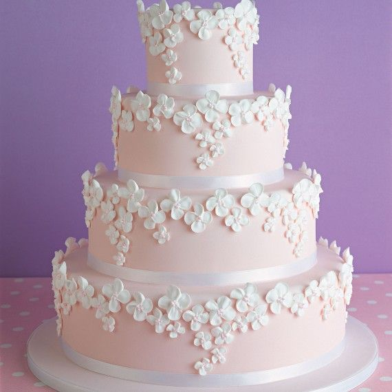 Pink Wedding Cake Recipe