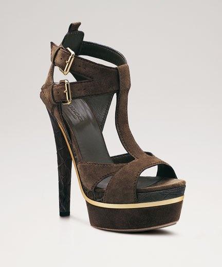 Gucci high heels sandals