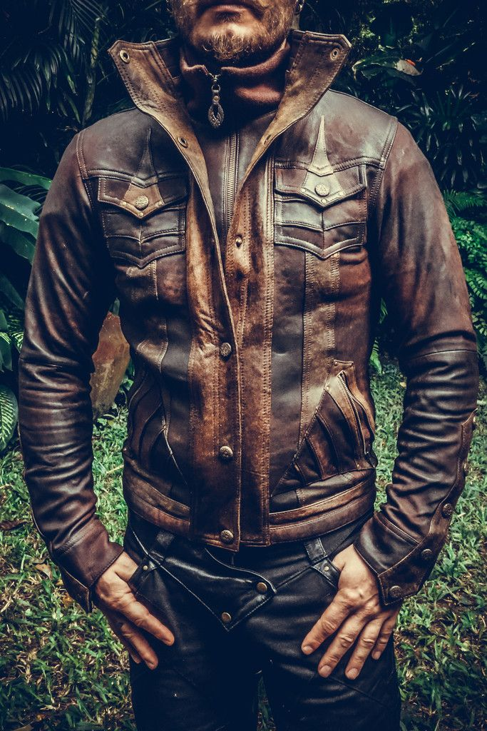 Alloy leather jacket #jacket #leather #leather-jacket #mens